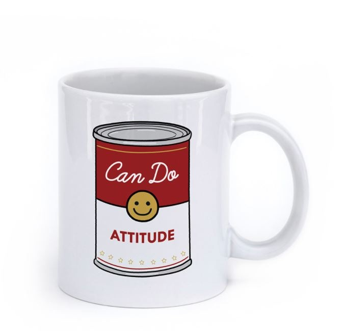Seltzer Can Do Attitude Mug-FINAL SALE