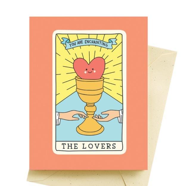 Seltzer Love Tarot-Love Card