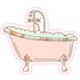 Talking Out of Turn Sticker - Bubble Bath-FINAL SALE