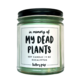 Brittany Paige In Memory of My Dead Plants Candle