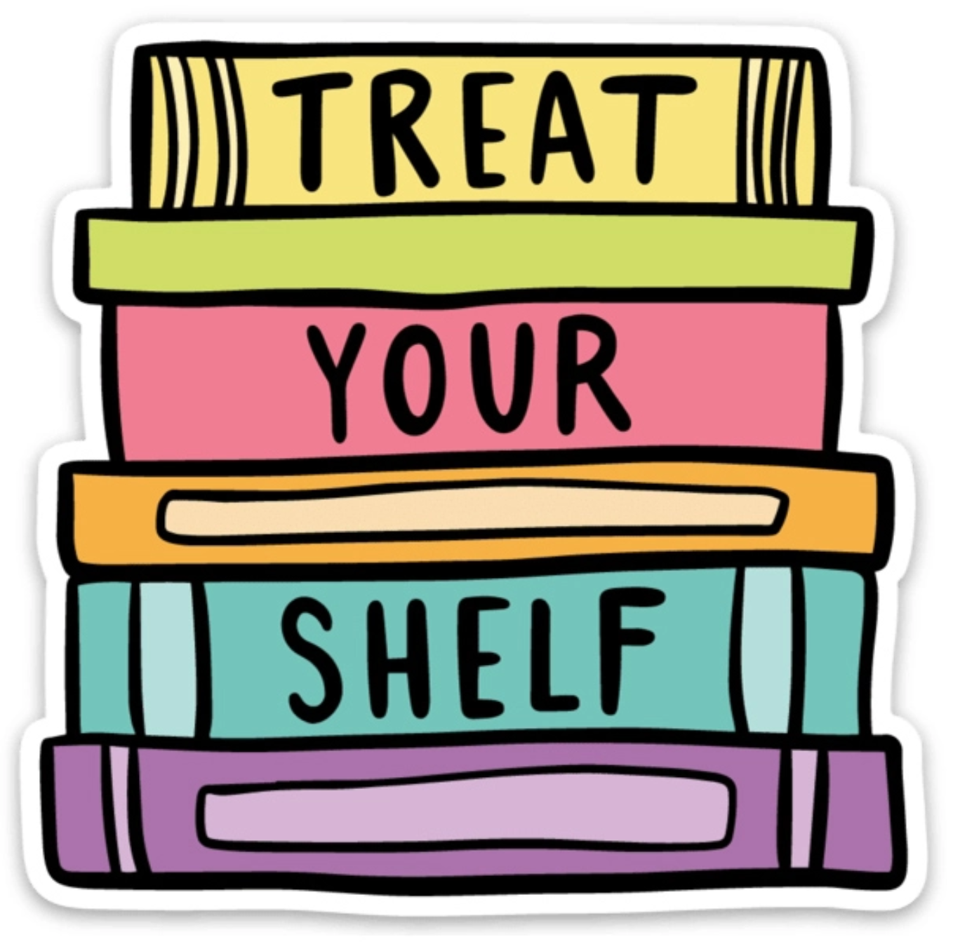 Brittany Paige Treat Your Shelf Sticker