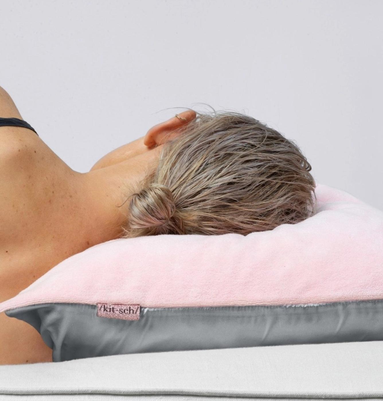 Kitsch Towel Pillow Cover - Blush