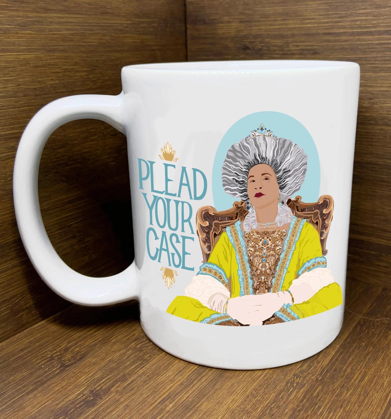 "Citizen Ruth ""Bridgerton"" Plead your Case Mug"