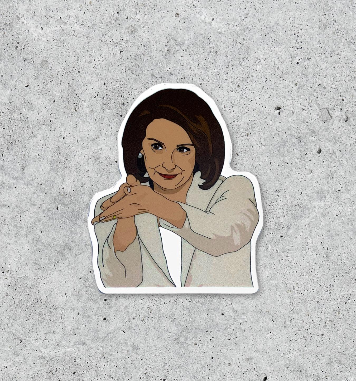 Citizen Ruth Nancy Pelosi clapback sticker