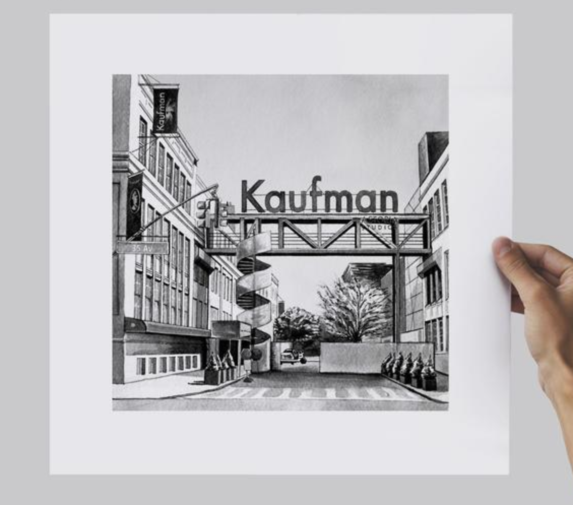 AJ the Awful Kaufman Print