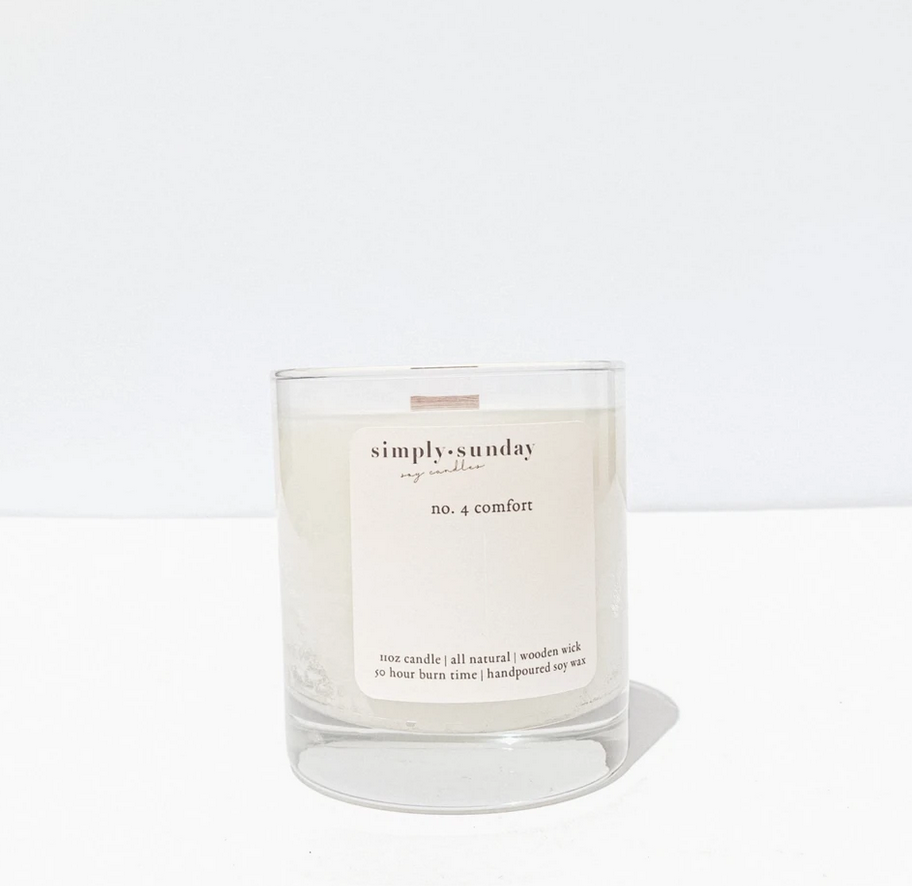 Simply Sunday Candles No. 4-Comfort