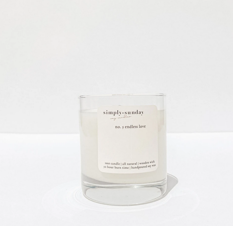 Simply Sunday Candles No. 5-Endless Love