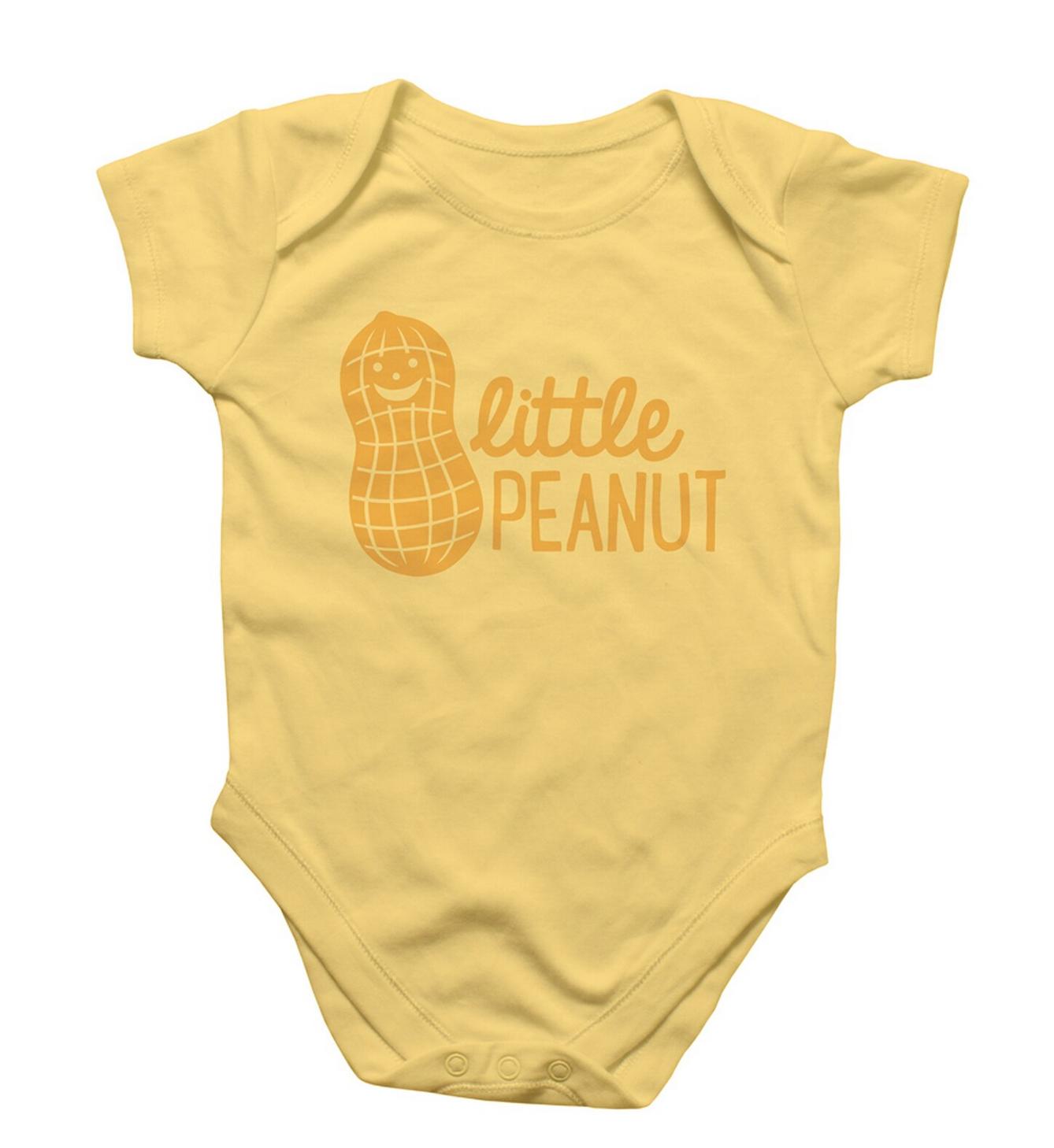 Rock Scissor Paper Little Peanut Onesie
