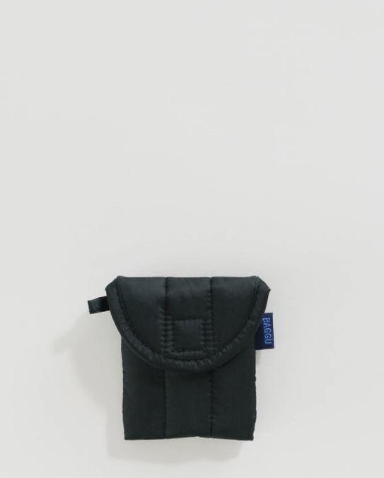 Baggu Puffy Earbud Case-Black