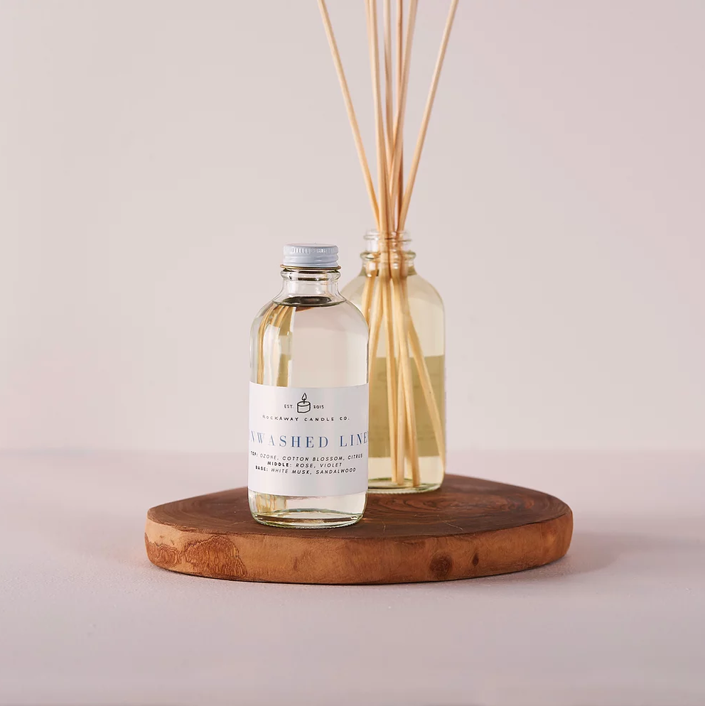 Rockaway Candle Co Reed Diffuser - Sunwashed Linen