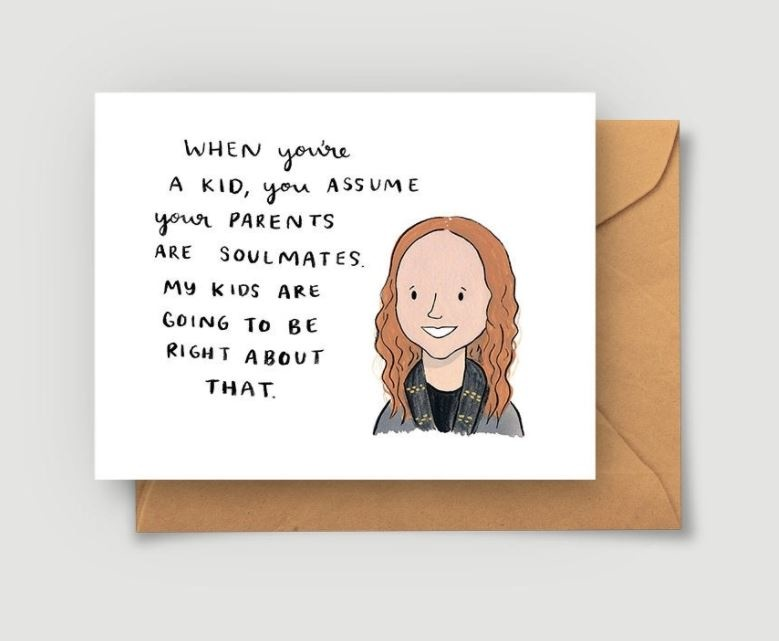 Abbie Paulhus Pam Beesly Love Card