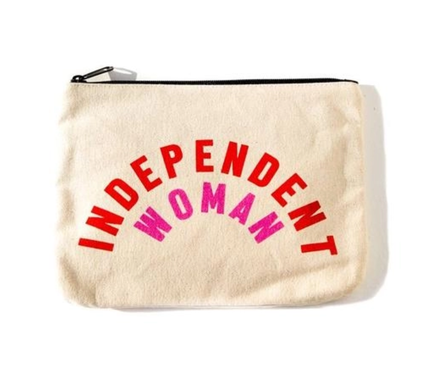 Mulberry & Grand Independent Woman Canvas Pouch