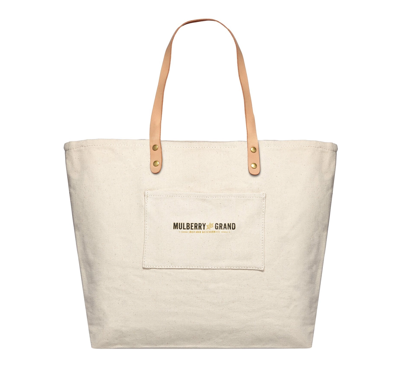 Mulberry & Grand NY Illustration Canvas Tote Bag