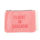 Mulberry & Grand Fluent in Sarcasm Canvas Pouch