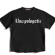 Mulberry & Grand Unapologetic Tee-Black