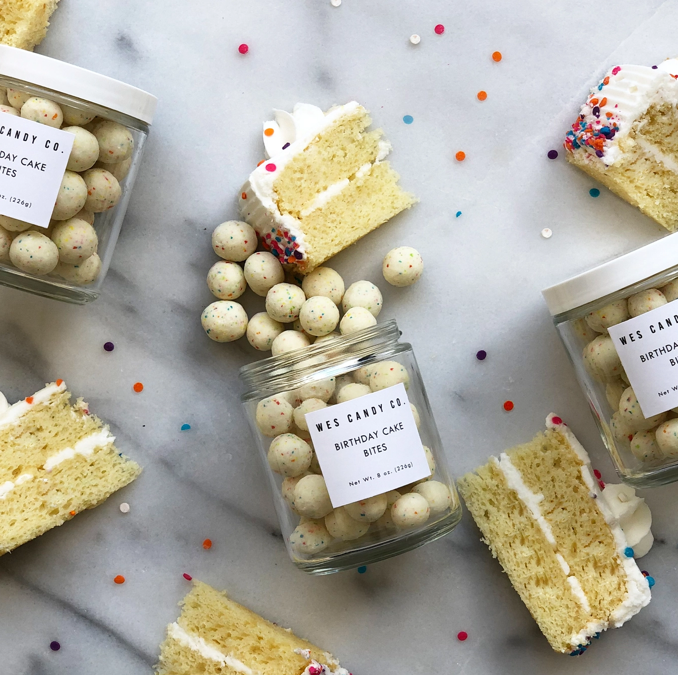 Wes Candy Co Birthday Cake Bites