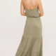 Lush Cami Tiered Maxi Dress-Olive