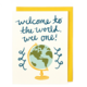 Little Low Studio Welcome Wee One Card