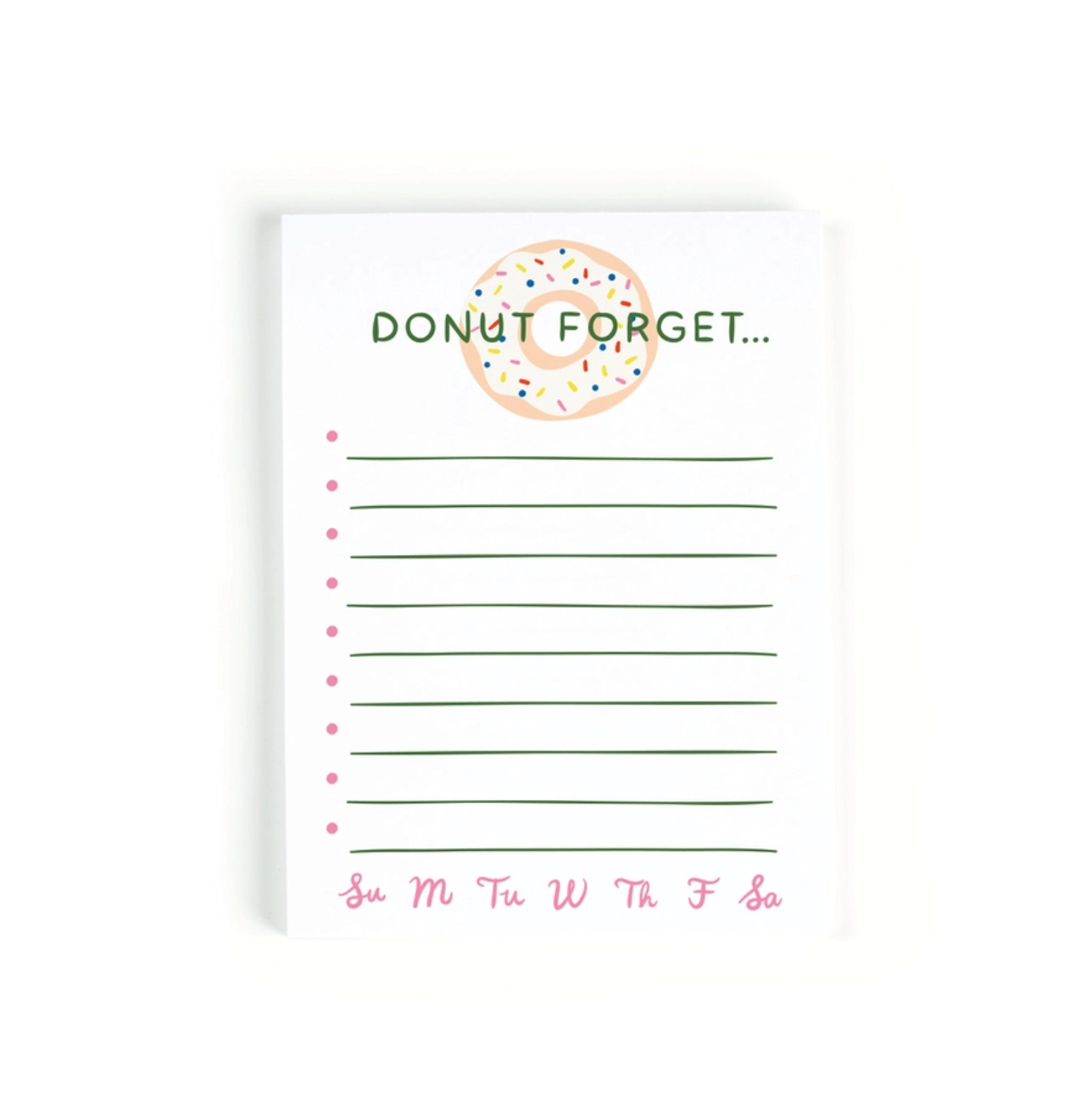 Little Low Studio Donut Forget Notepad