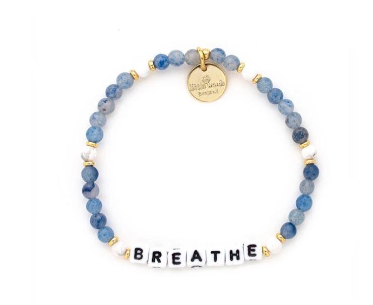 Little Words Project White-Breathe-Bluestone