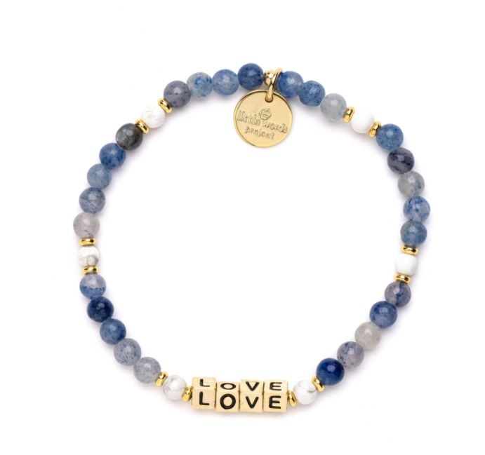 Little Words Project Gold-Love-BLUE STONE