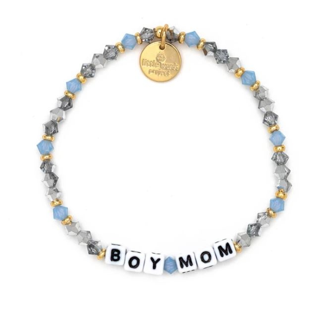 Little Words Project The Mother's Day Collection-Boy Mom-Gold