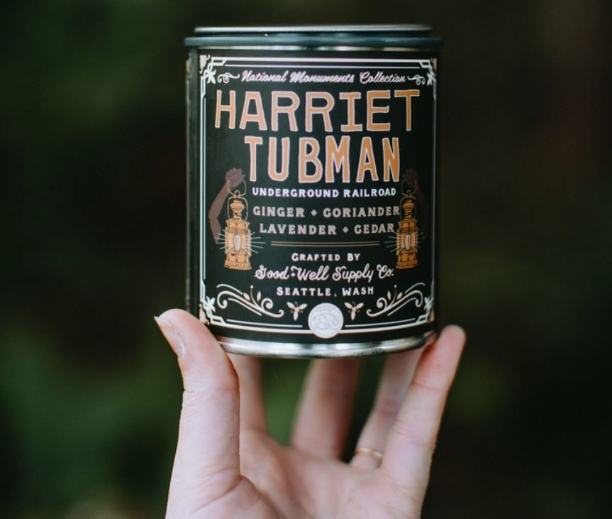 Good & Well Supply Harriet Tubman Candle - Ginger Coriander Lavender Cedar