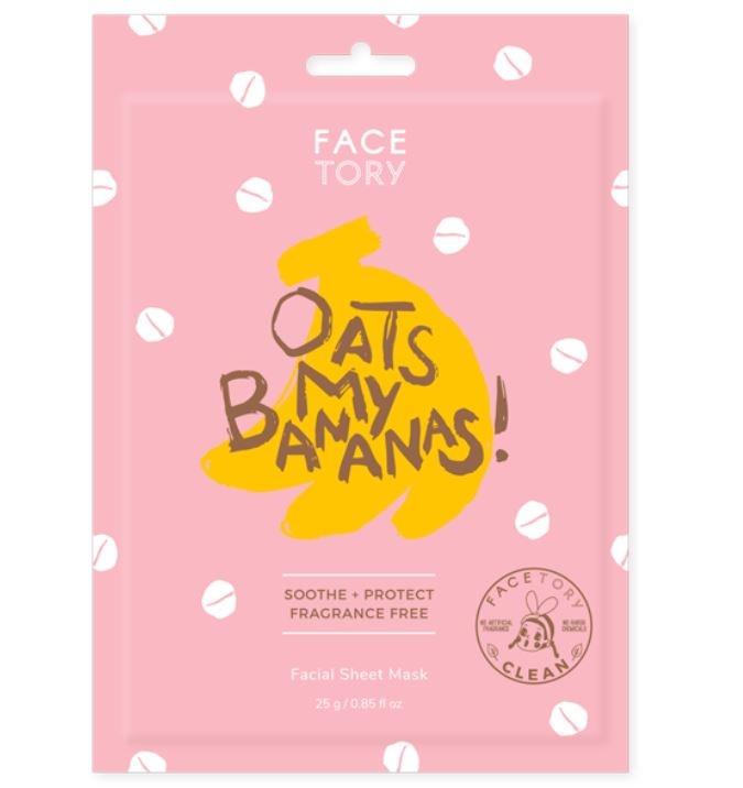 FaceTory Oats My Banana Mask