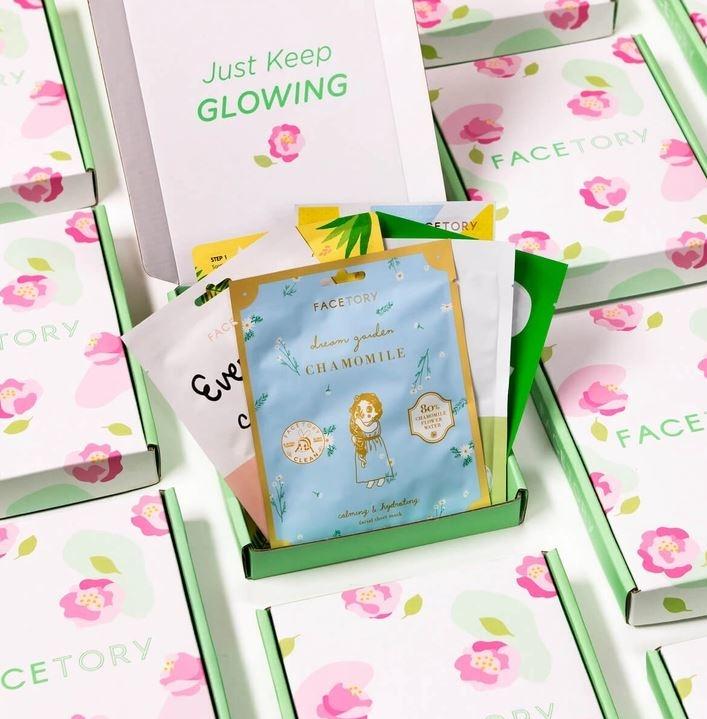 FaceTory Spring Season Sheet Mask Essentials Bundle