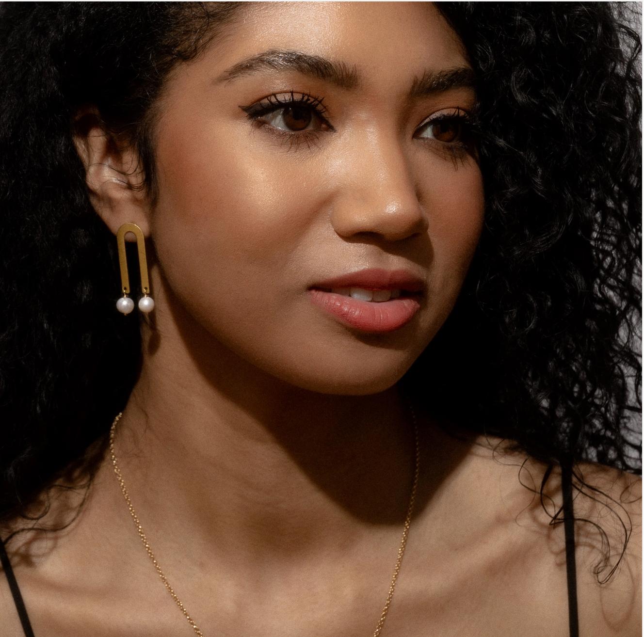 Larissa Loden Babs Earrings