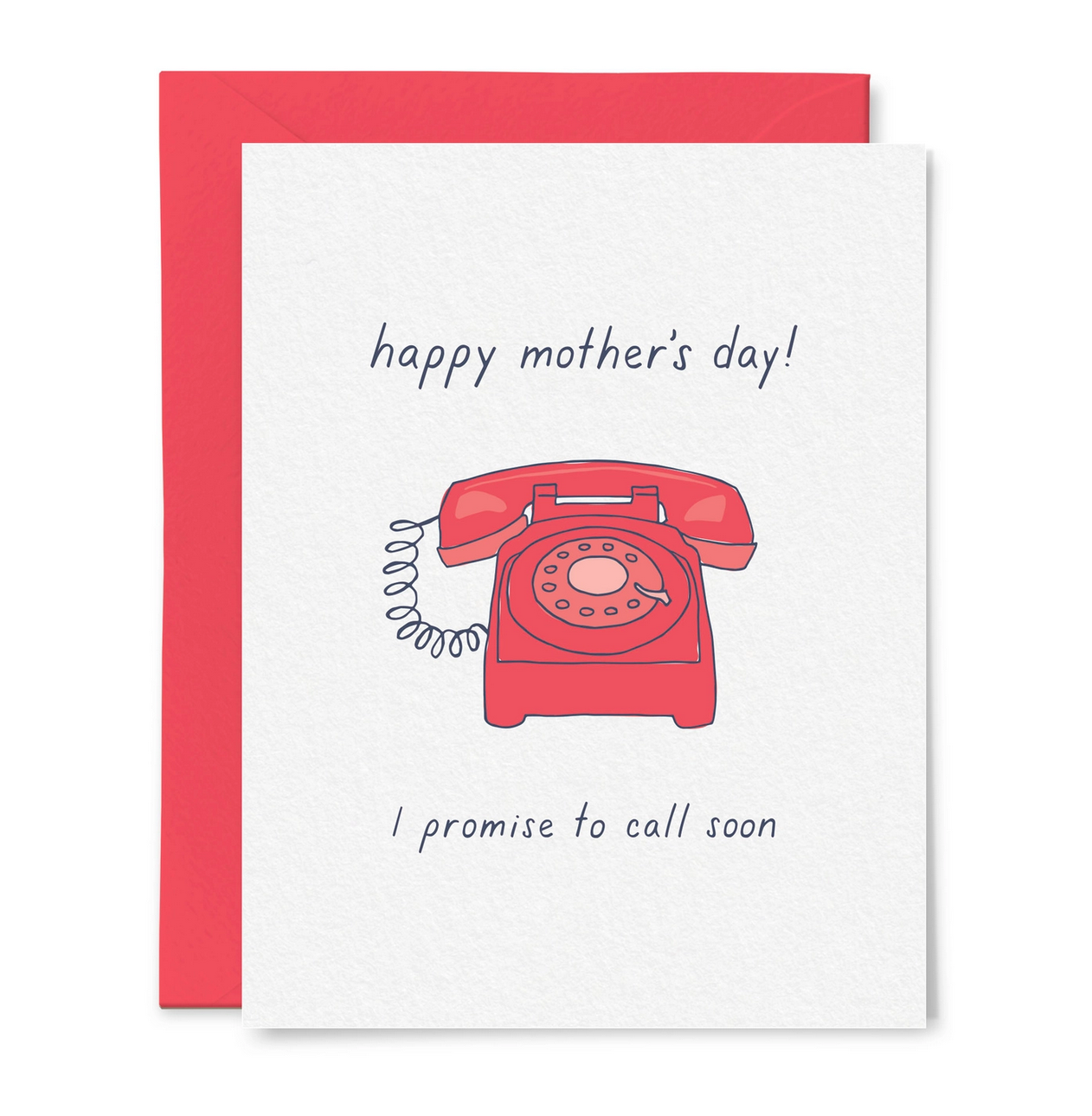 Little Goat Mother's Day Call Your Mom Card