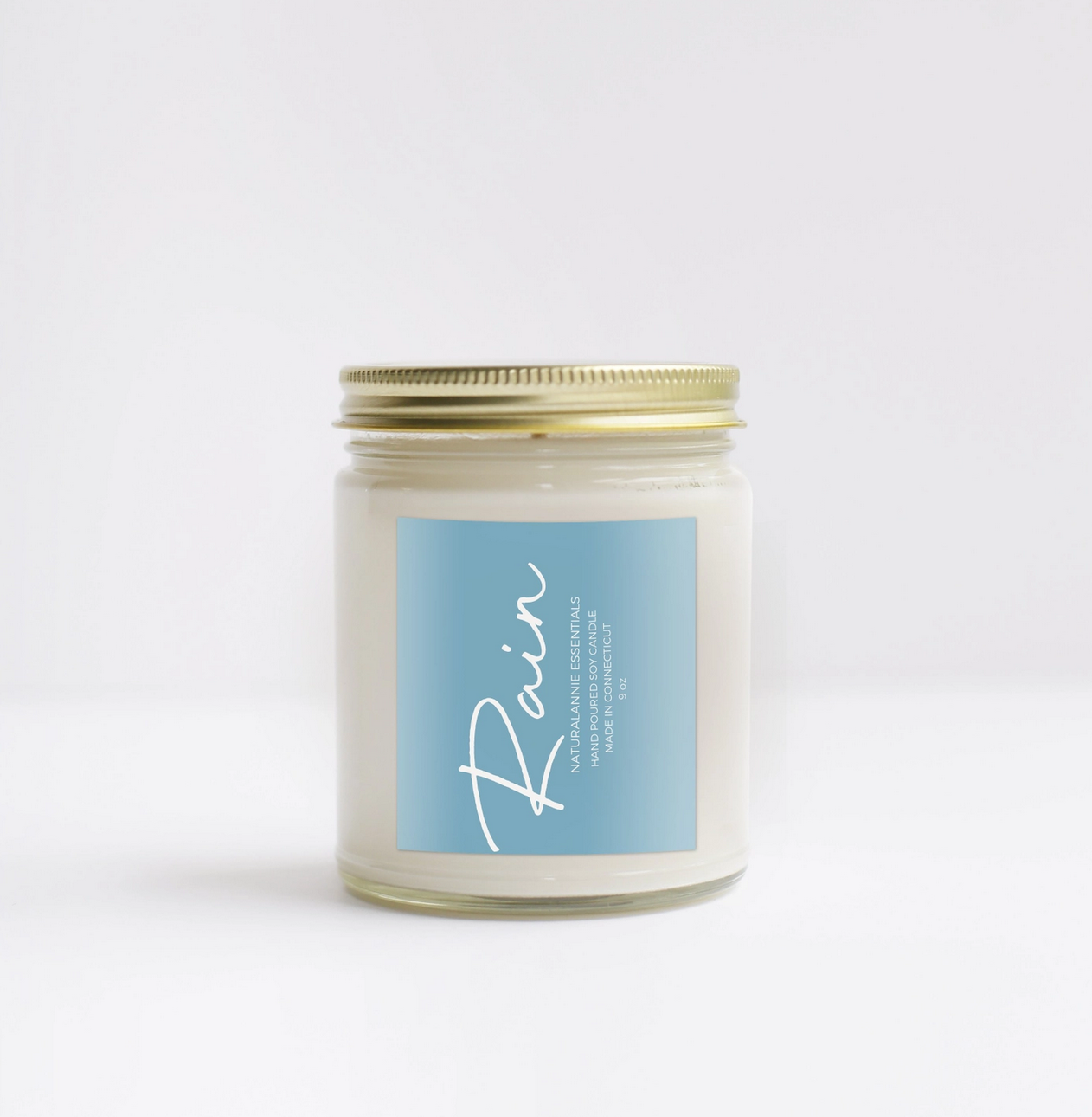 NaturalAnnie Essentials RAIN Scented Soy Candle