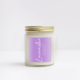 NaturalAnnie Essentials LAVENDER Scented Soy Candle