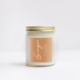 NaturalAnnie Essentials GINGER Scented Soy Candle