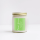 NaturalAnnie Essentials FRESH GRASS Scented Soy Candle
