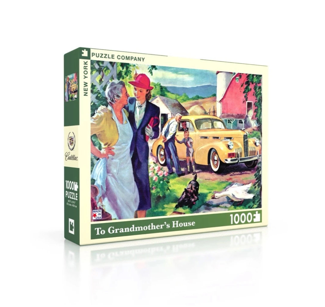 New York Puzzle Company To Grandmother's House Puzzle