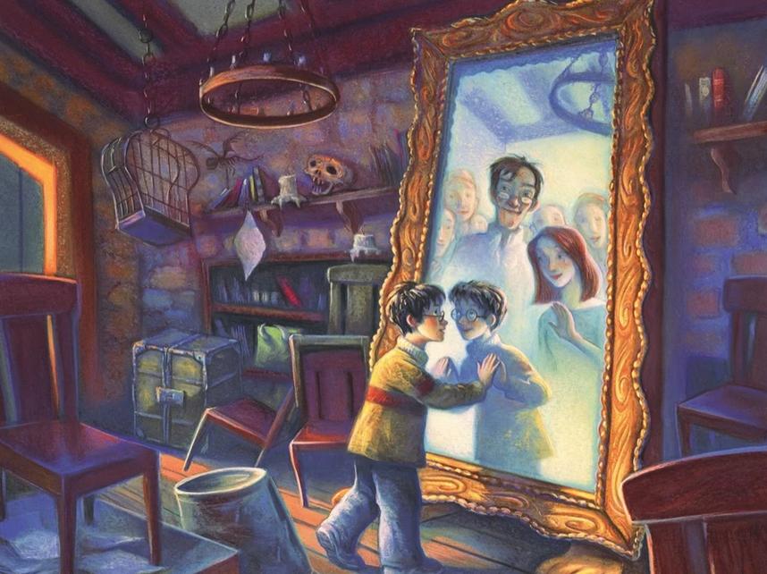 New York Puzzle Company Mirror of Erised Puzzle