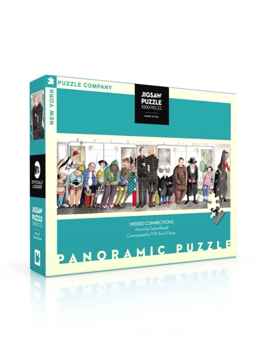 New York Puzzle Company Missed Connections Puzzle