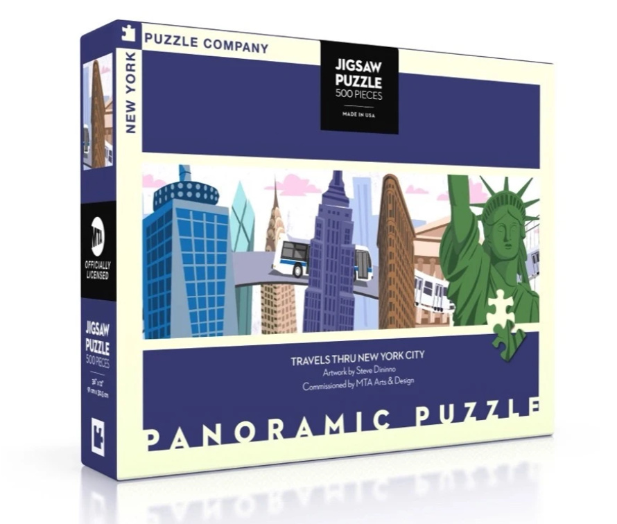 New York Puzzle Company Travels Thru New York City Puzzle