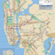 New York Puzzle Company New York Subway Map Mini Puzzle