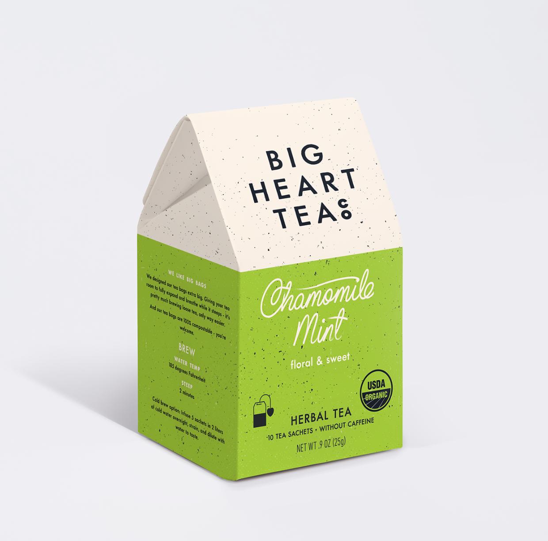 Big Heart Tea Co Chamomile Mint Tea Bags