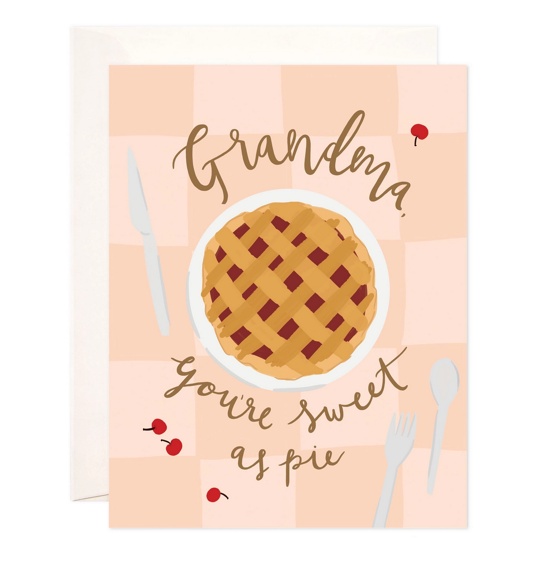 Bloomwolf Studio Grandma's Pie Card