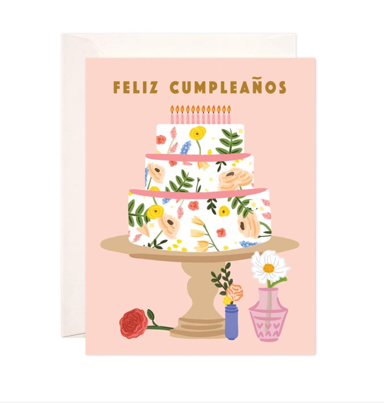 Bloomwolf Studio Cumpleaños Cake Birthday