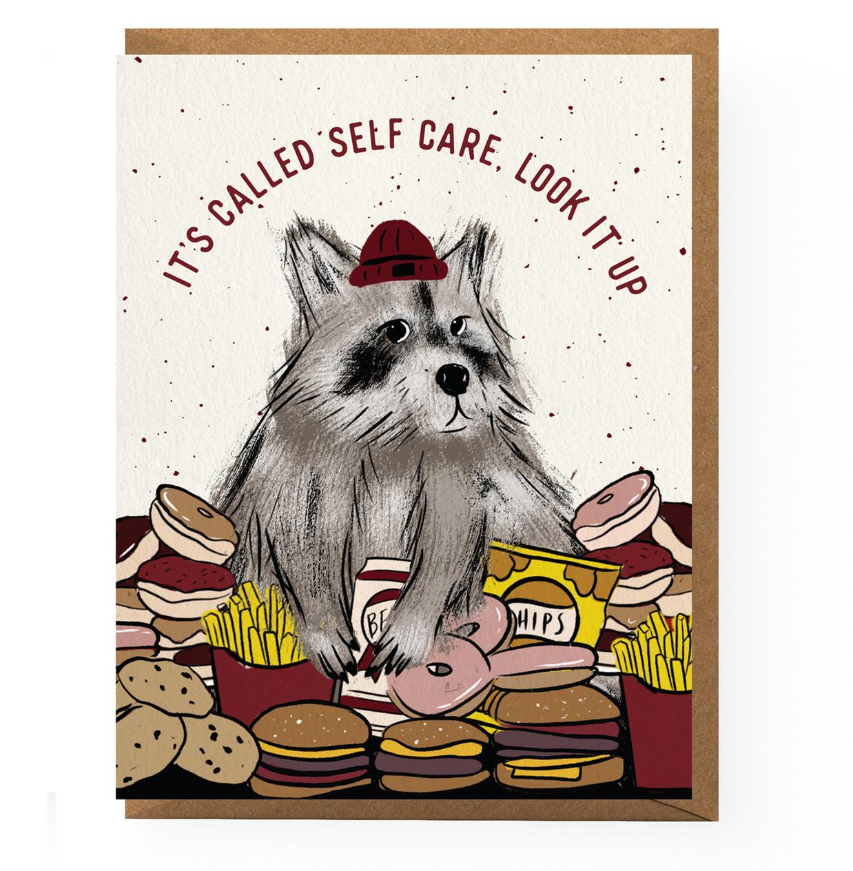 Boss Dotty Self Care Raccoon