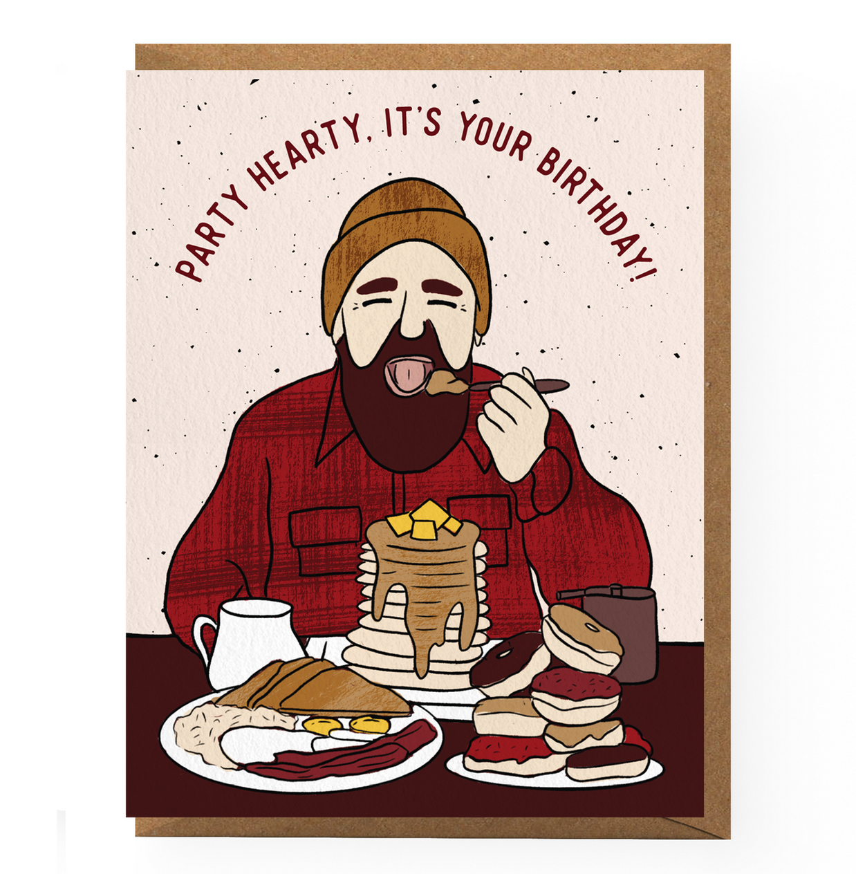 Boss Dotty Lumberjack Birthday