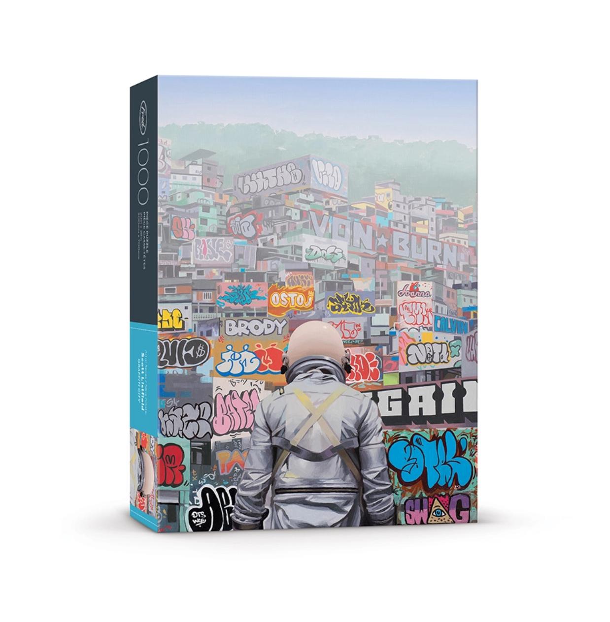 Fred & Friends Scott Listfield- Graffiti City Puzzle-1000 PC