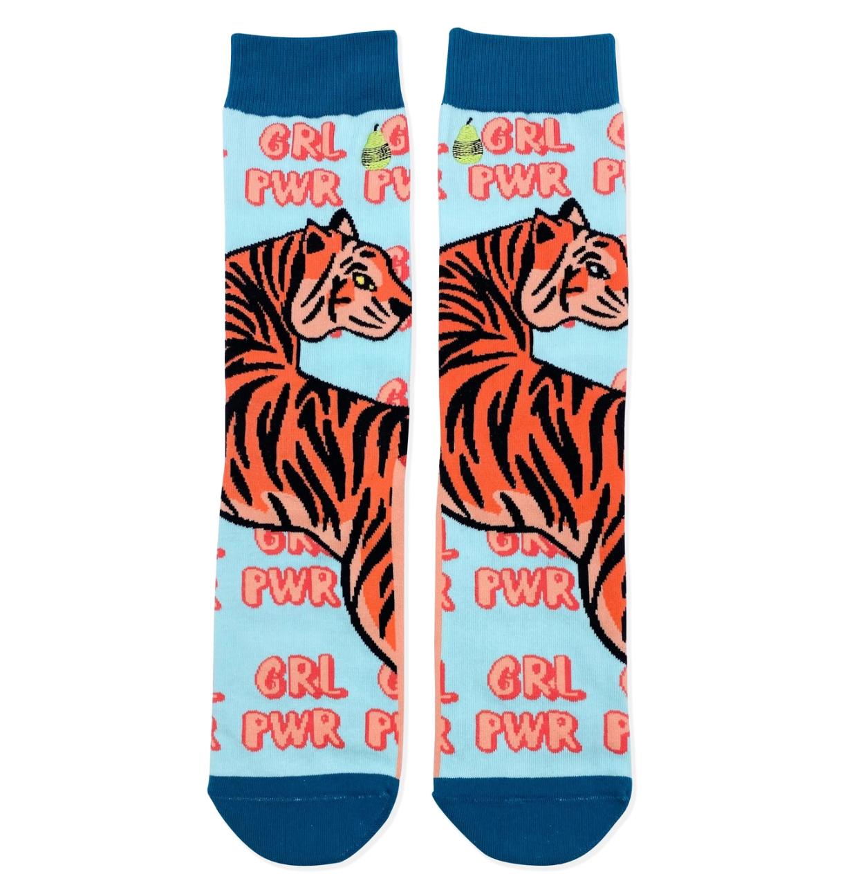 Woven Pear GRL PWR Socks