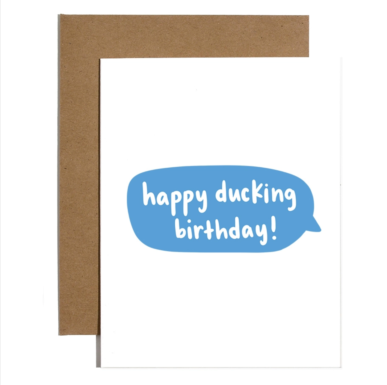 Brittany Paige Happy Ducking Birthday Card