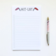 Siyo Boutique Hit List Notepad