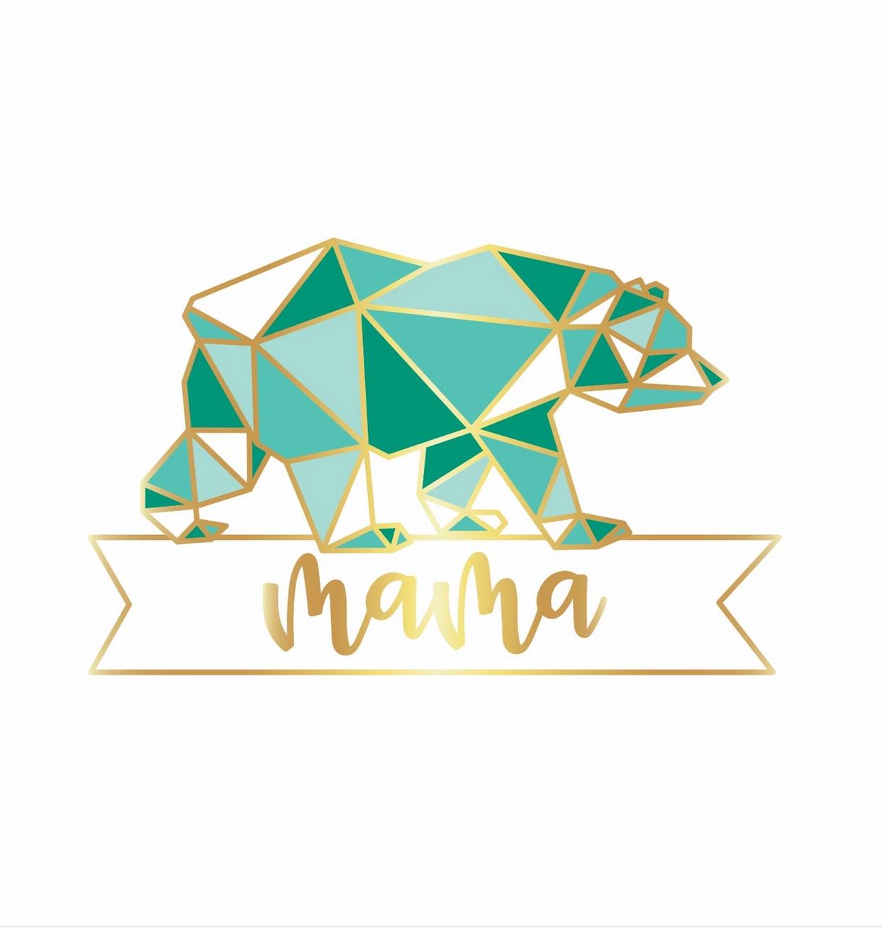 Little Lovelies Studio Mama Bear Pin